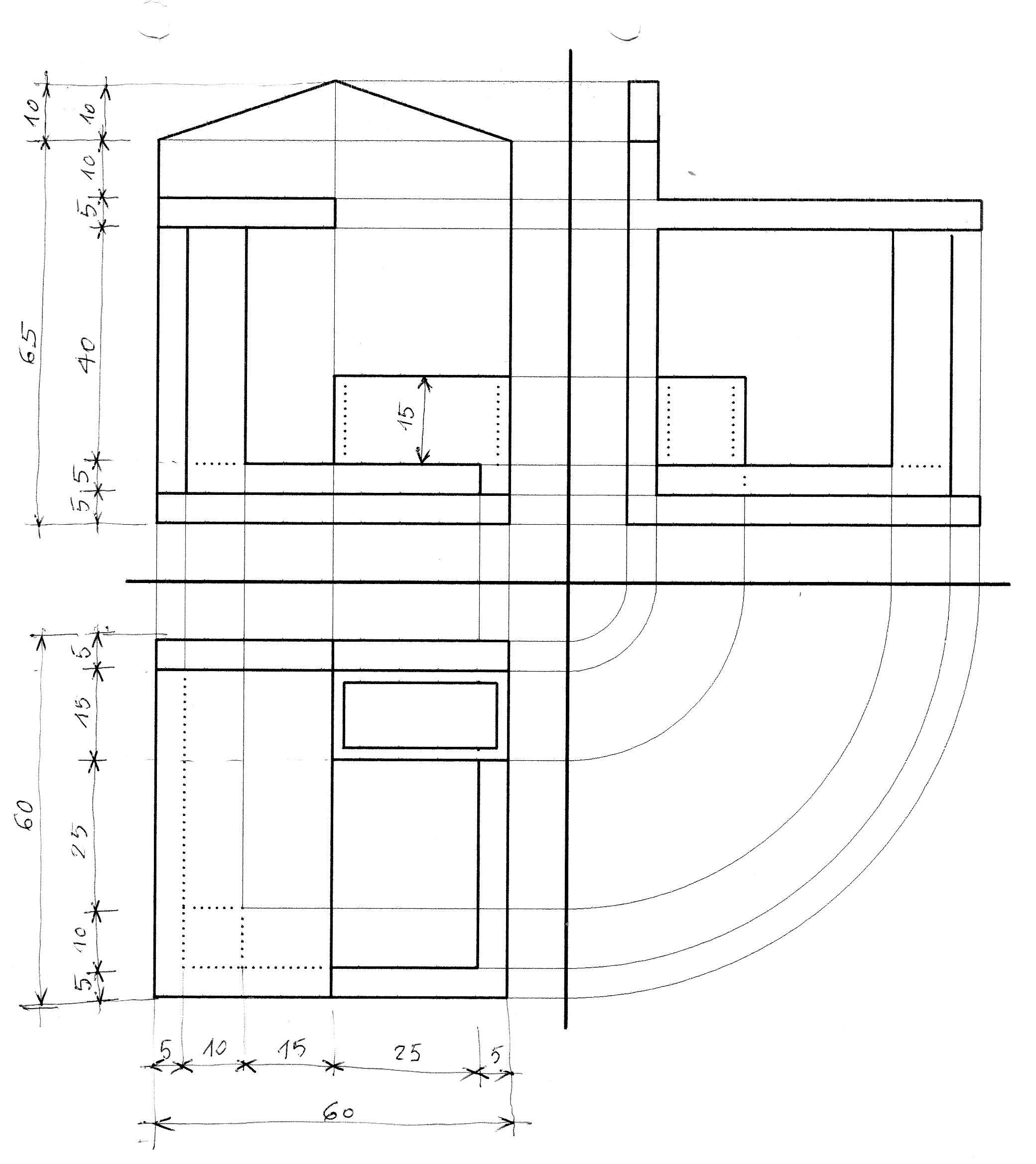Disegno 2 for Schemi di scala a chiocciola